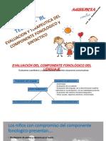 Evaluación y terapeutica del componente fonológico.pptx