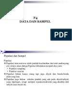 P4 Data da Sampel Penelitian