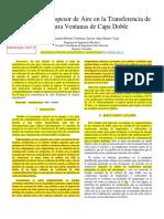 Incidencia del Espesor de Aire en la Transferencia de Calor para Ventanas de Capa Doble (1)