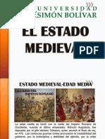 ORIGENES DEL ST -2) EL ESTADO MEDIEVAL