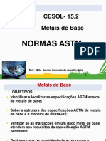 METAIS DE BASE