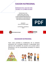 Educacion nutricional a escolares 6 - 12.pptx