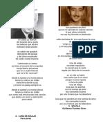 1O letras de canciones guatemaltecas, 10 poemas guatemaltecos, adivinanzas guatemaltecas