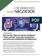 """Del contrato clásico al contrato inteligente_ """""""