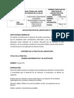 Practica 5 Bromatología (pruebas sensoriales)