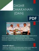 DASAR AGROMAKANAN(DAN)