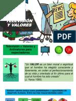 television y valores