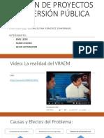 GESTIÓN DE PROYECTOS DE INVERSIÓN PÚBLICA