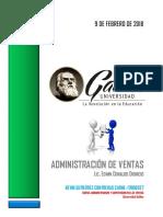 Administracion de Ventas Kevin Gutierrez 17006557