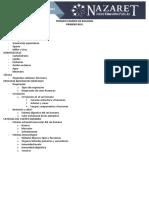 TEMARIO EXAMEN DE BIOLOGÍA - 1ero BGU