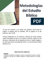 TEMA 1 METODO DEVOCIONAL DE ESTUDIO BIBLICO