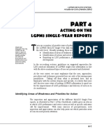 4 - Acting on Lgpms Single-year Reports