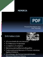 Clase Memoria 2015