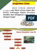 MANAJEMENi Linen  - Materi RSI
