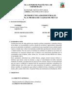 Laboratorio 8 PRUEBAS DE CALIDAD FRUTAS Y HORTALIZAS