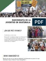Radiografía de la juventud en Guatemala