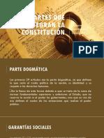 Partes Que Integran La Constitución