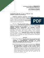 16.- Tercería Excluyente de dominio Librado Gerzain Valencia Cocoletzi.
