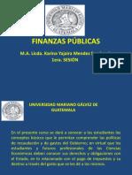 1er Sesion FINANZAS PÚBLICAS 13-7-2019