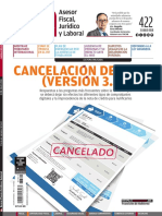 Idc-422 Cancelacion Del Cfdi Version 3.3