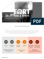 FORT Wine & Spirits _ Import & Distribution Company in Russia