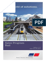 MTU Rail SalesProgram