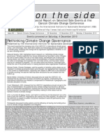 ENB on the Side - Cancún Climate Change Conference - Issue #6