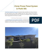PDP - Solar Power Panel System in Perth WA(8)