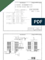 Sony Vaio VGN-P Series MBX-187 IRX-5040 Schematic Diagram (1)