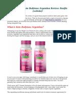 Where can i buy Keto Bodytone Argentina Read Reviews & Scam!