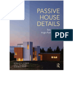 Passive House Details Solutions for High-Performance Design