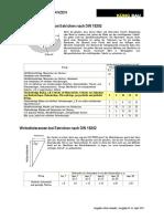 Ebenheitstoleranzen für Estriche nach DIN 18202
