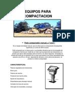 Equipos de Compactacion