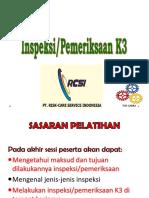7 INSPEKSI - PEMERIKSAAN K3