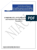 Website Upload - Corporate Anti-Fraud Policy and SOP 2019 Version 1.3