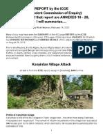 ICOE-Kanyintan Attack, Summarized
