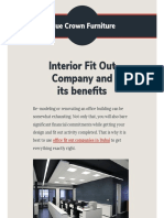 Advantages of Hiring Office Interior Fit Out Company