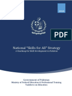 National Skills for All Strategy 2018
