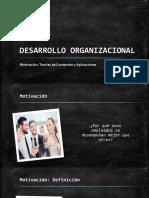 Motivación - Desarrollo Organizacional