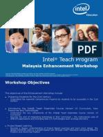 Enhancement Workshop Presentation