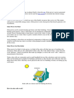 What is solar power