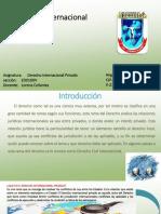 presentacion de derecho internacional privado en contruccion
