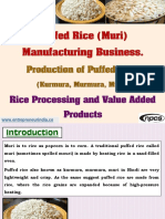 Puffed Rice (Muri) Manufacturing Business-926590-