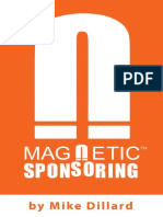 Magnetic Sponsoring by Mike Dillard