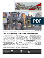 Iron Advisor Volume I Issue V