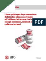 SIFO_Linee_farmaci_alto_rischio