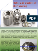 Buy Affordable and Quality of Roller Bearing