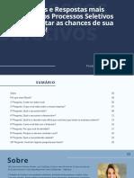 10 perguntas e respostas mais utilizadas nos processos seletivos para aumentar as chances de sua recolocação