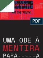 UMA ODE A MENTIRA