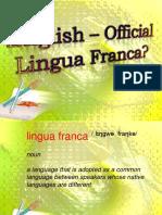 English Official Lingua Franca